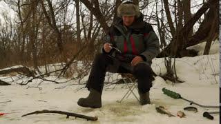 Ловля зимой голавля на малых реках