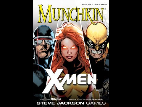 Dad vs Daughter - Munchkin X-Men Preview/Review