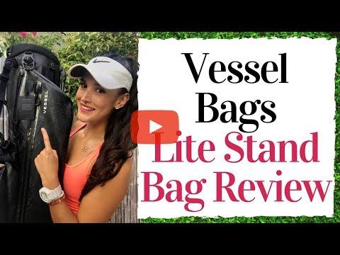 My First Ever Product Review – Vessel Bags Lite Stand Bag