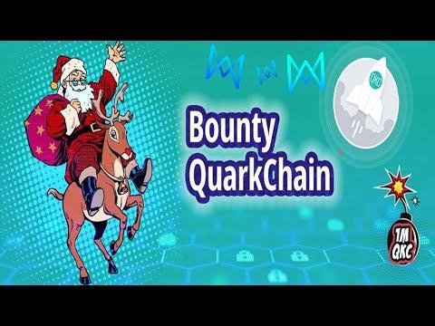 1 Milhão de moedas QKC no Bounty App da QuarkChain !!! Já listado CoinMarketCap ...