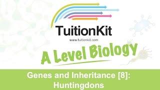 Genes And Inheritance [8]: Huntingdons (High Band Biology)