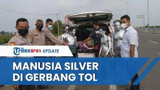 Manusia Silver Pelaku Pungli di Pintu Tol Keramasan Ogan Ilir Ditangkap, Ternyata Masih Usia Remaja