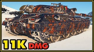 Progetto M40 mod. 65 - 11K Damage - World of Tanks Gameplay