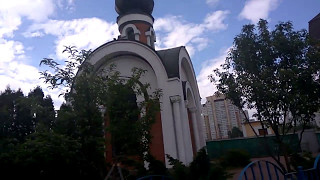 Песни Кобзона и Лещенко в церкви УПЦ МП в Киеве на 9 Мая - С чего начинается родина