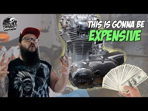 This just got EXPENSIVE [XS650 chopper build series part 3]
