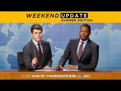 Colin Jost and Michael Che Are Back - SNL