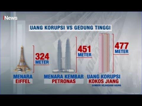 Uang Rp477 Miliar Hasil Korupsi Kokos Jiang Melebihi Tinggi Menara Petronas - iNews Sore 15/11