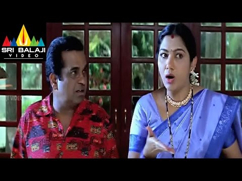 Pallakilo Pellikuthuru Movie Brahmanandam Comedy Scene | Gowtam, Rathi | Sri Balaji Video