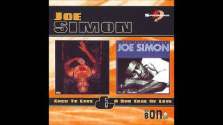 I Can't Live Without Your Love  - Joe Simon