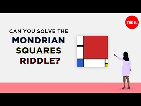 The Mondrian Squares Riddle