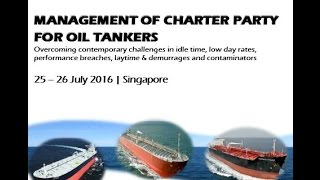 Management of Charterparty for Oil Tankers