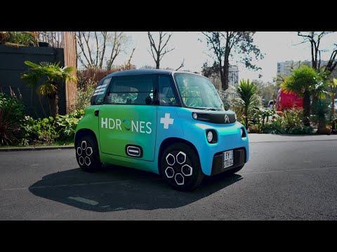 Musique publicité Citroën My Ami Cargo – Pub HDrones 2021   Juillet 2021