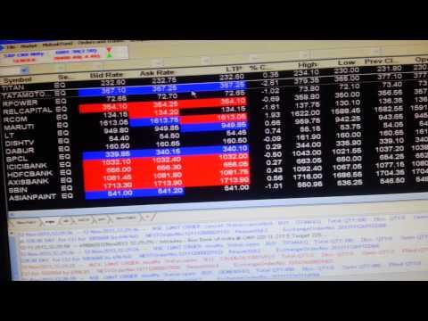 share market demo , stock trading