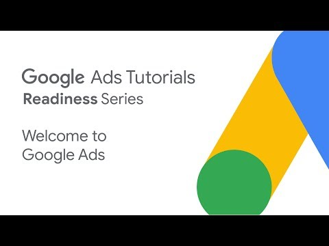 Google Ads Tutorials: Welcome to Google Ads - YouTube