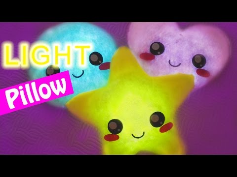 DIY crafts: LIGHT PILLOW very easy! – Innova Crafts