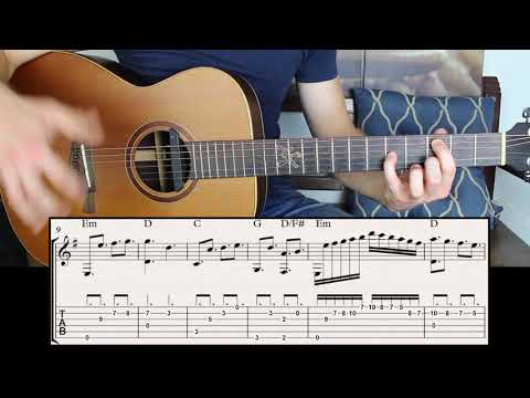 How to Build Emotional Chords in E minor Key on Guitar