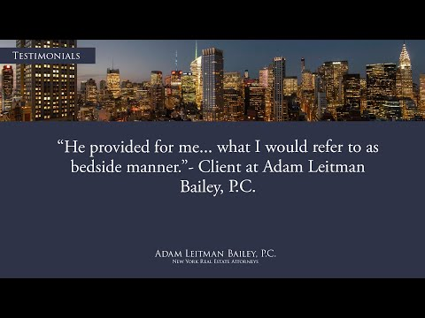 """""""He provided for me… what I would refer to as bedside manner."""" testimonial video thumbnail"""