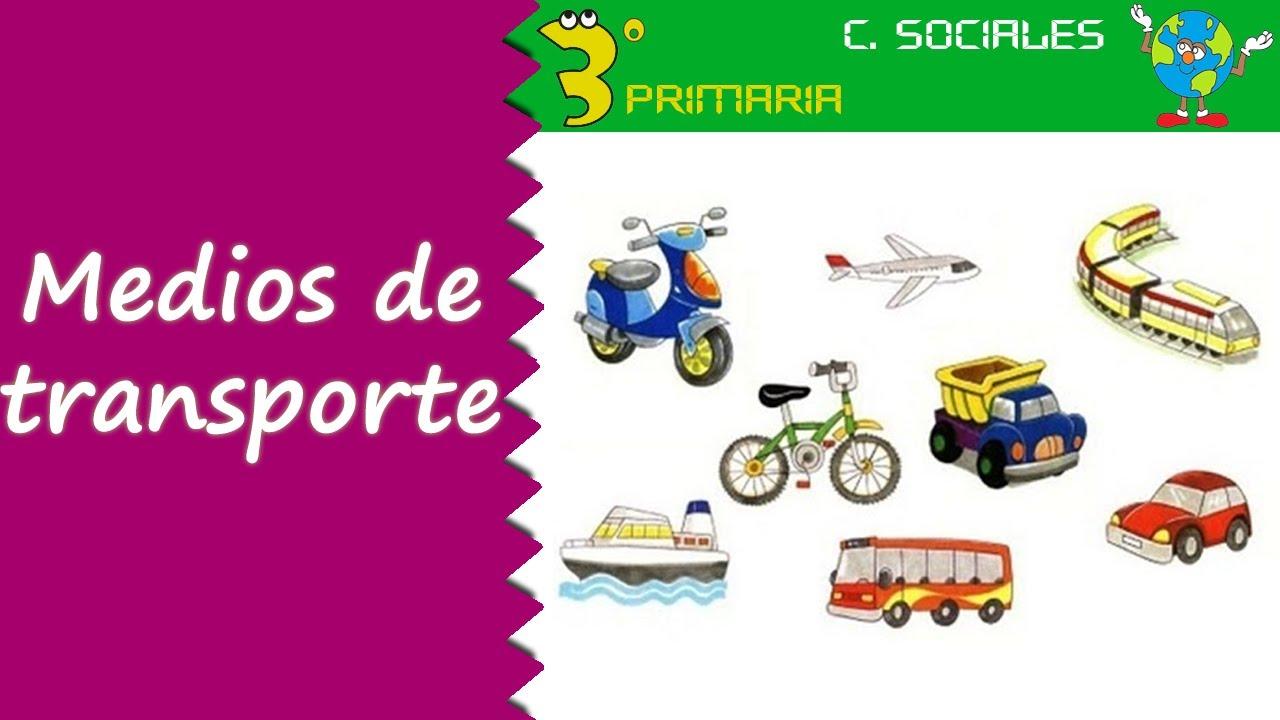 Ciencias Sociales. 3º Primaria. Tema 2. Tipos de transporte