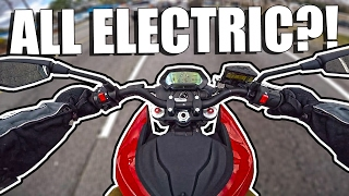 ZERO SR // An All Electric Motorcycle?