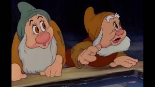 Snow White and the Seven Dwarfs - Bluddle-Uddle-Um-Dum (The Washing Song) Polish Dubbing 2009 HD