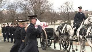 Arlington National Cemetary Full Military Honors Service