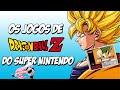 Os Jogos De Dragon Ball Z Do Super Nintendo jurassic Ga