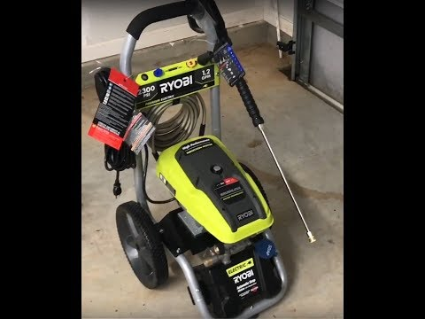 Ryobi 2300 psi Pressure Washer Review