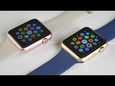 Apple Watch Sport - Gold & Rose Gold (Unboxing & Comparison)