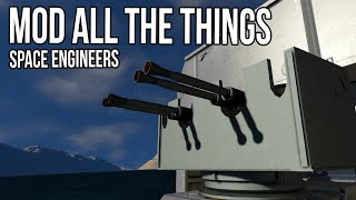 Mod All The *Water* Things! - Space Engineers Survival