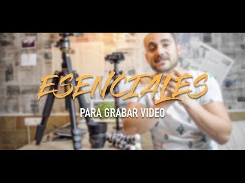 Esenciales para grabar video profesional - Sebastian Cava