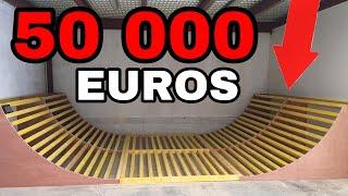 ON CREER UN SKATEPARK à 50 000 euros DE MALADE !!