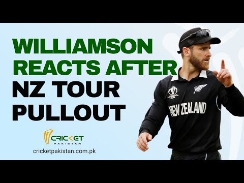 'Real shame': Williamson reacts after NZ abandon tour