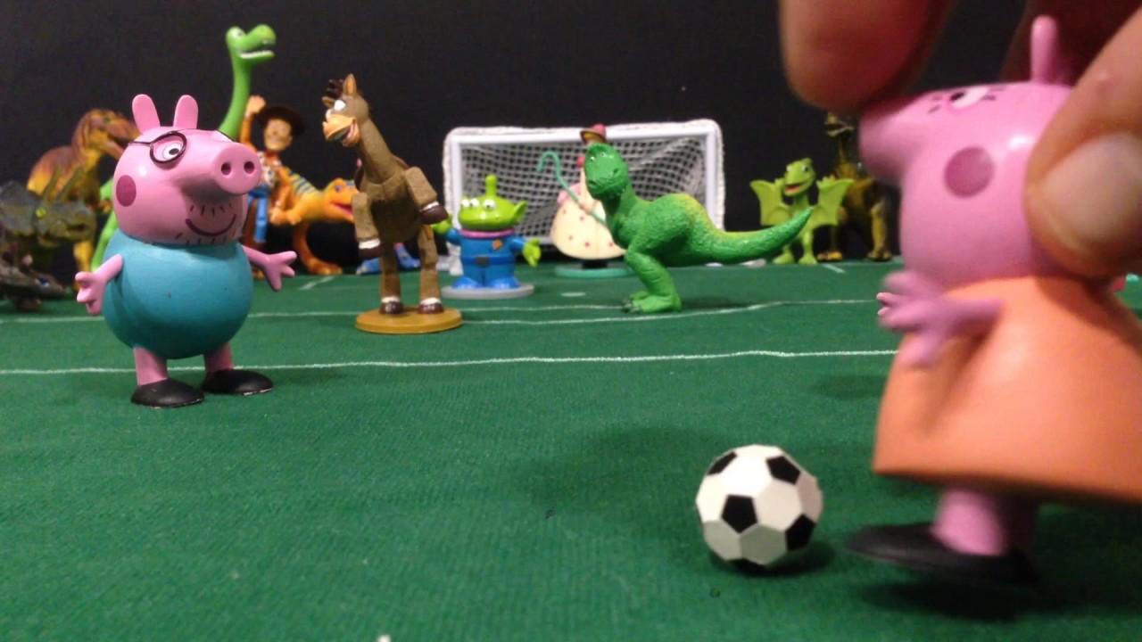 Fútbol loco: Peppa Pig contra Toy Story