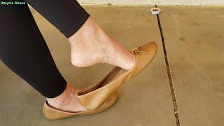 Sold: Waitress Sneaker Bundle, Ballet Flats, Gucci Heels