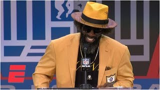 Ravens all-time great Ed Reed gives Hall of Fame speech | NFL on ESPN