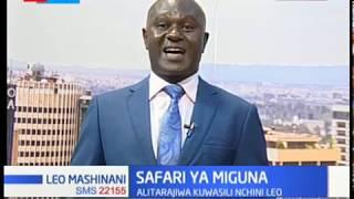 Safari ya Miguna: Miguna aliyetarajiwa kuwasili Kenya leo asema amezuiliwa ujerumani