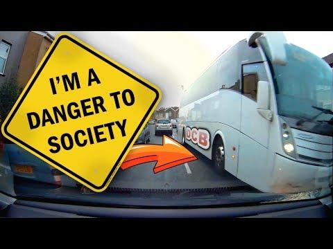 UK Dash Cam   BAD DRIVERS OF BRISTOL #56