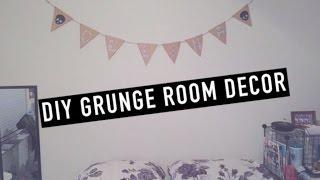 DIY Grunge Room Decor ☠
