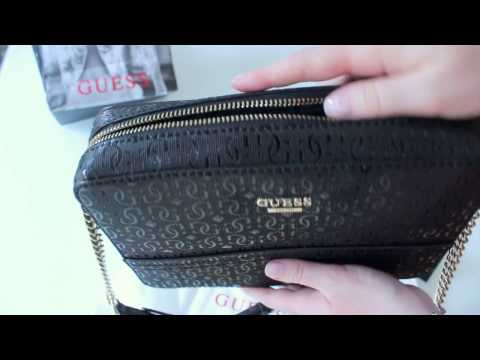 New Guess Devyn (GS) HWGS64 21120 Black (Handbag)