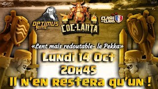 🔴CLASH OF CLANS   COC LANTA   LENT MAIS REDOUTABLES