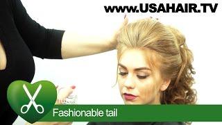 Fashionable tail. parikmaxer TV USA