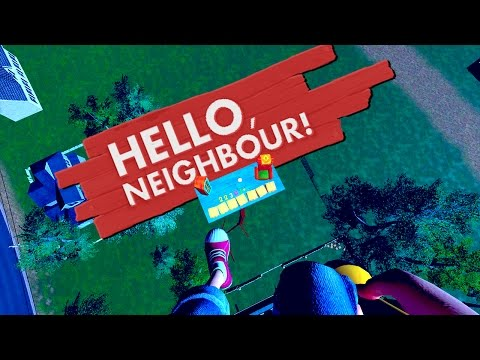 ALPHA 3 UPDATE! NEW MASSIVE SPOOKY HOUSE! - HELLO NEIGHBOUR (Hello