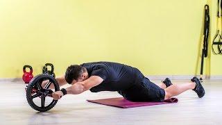 Core abdominales deslizantes - rutina avanzada