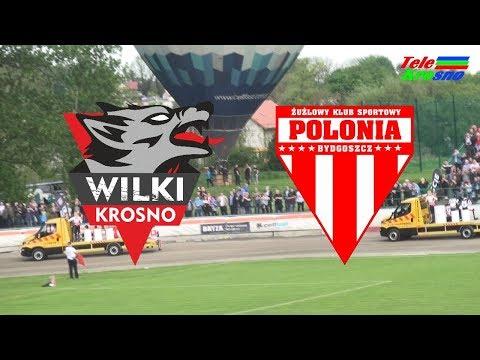 WIDEO: Wilki Krosno - Polonia Bydgoszcz 44-46 [SKRÓT MECZU]