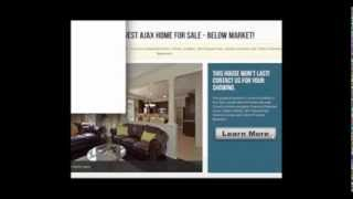 preview picture of video 'Ajax House Listings | Below Market Price House Listings in Ajax Ontario'