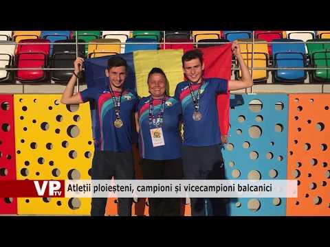 Atleții ploieșteni, campioni și vicecampioni balcanici