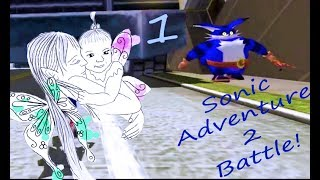 Sonic Adventure 2 Battle 1 (Big the cat and GLITCHES)