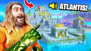 ATLANTIS In FORTNITE! (AQUAMAN BASE)