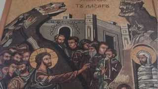 preview picture of video 'Modern Mosaic's in the St. George's Church in Madaba'