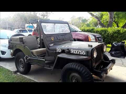 Video of '52 Jeep - QFSY